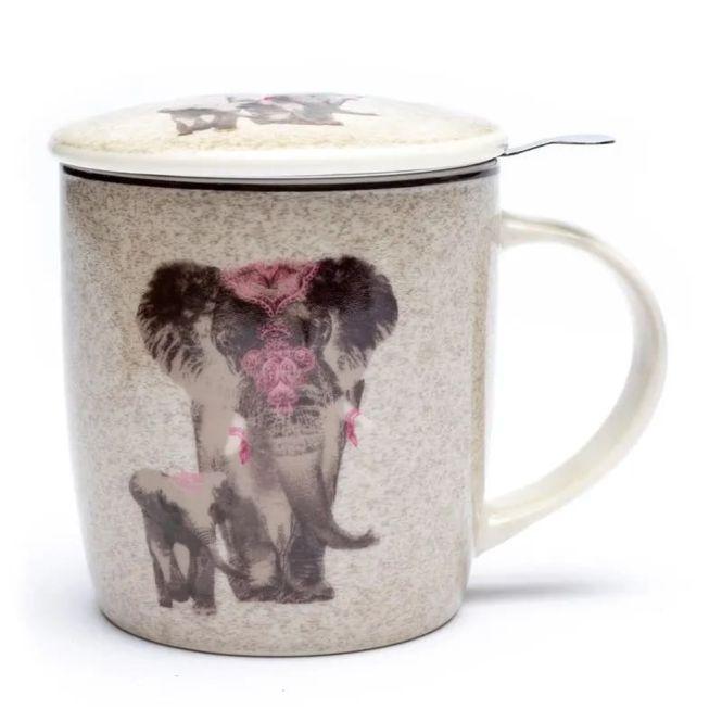 Ensemble de tasse à thé Éléphant