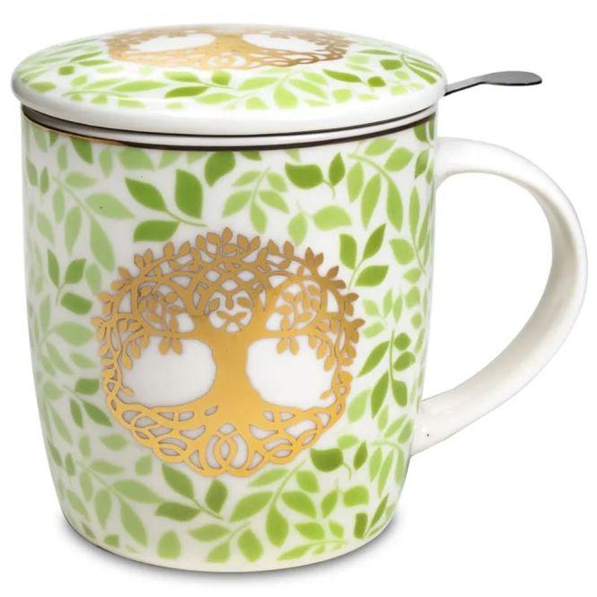 Set de tasse à thé arbre de la vie